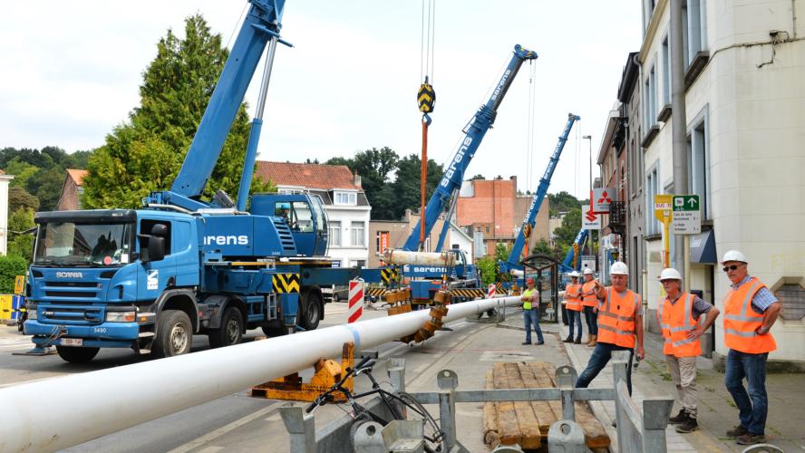 Sibelga Rapport Annuel 2017 Zuidverbinding: opdracht volbracht
